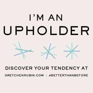 I'm An Upholder